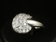 Exklusiver Brillant Ring 1,58ct (Gravur) Ringweite 49   8,5g 750/- Weißgold