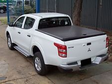 EGR Alloy Trade Top Hard Ute Lid for Mitsubishi MQ Triton Dual Cab - Black