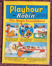PLAYHOUR & ROBIN COMIC. 26 JULY 1969. CHILDRENS COMIC. PUZZLES NOT DONE. VFN+