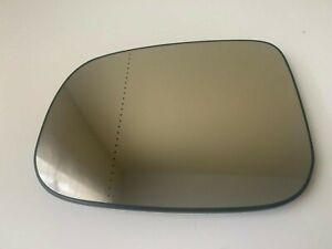 Volvo S40,V50,C30,C70 2009->  left door mirror glass base aspherical heated