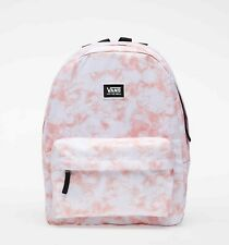 NWT VANS Off The Wall REALM BACKPACK Travel Gym School Laptop Bag PINK ICING