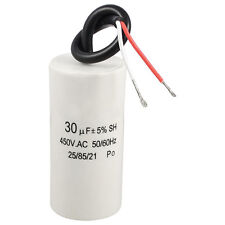 2-Wired Cord 30uF 450VAC 50/60Hz CBB60 Motor Start Run Capacitor SH