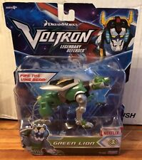 Dreamworks Voltron Legendary Defender Green Lion With Firing Missile New