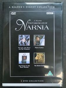 Chronicles Of Narnia DVD Box Set Complete Collection Classic BBC / CS Lewis