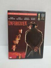 Unforgiven (Dvd,2002,2-Disc,Special Ed,Widescreen) Clint Eastwood,Not a Scratch!