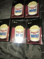 Readers Digest Greatest Hits from the Movies - 5 Cassettes Tapes
