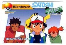 POKEMON BANDAI 1998 POCKET MONSTERS N° EX-9 SATOSHI + PIKACHU etc...