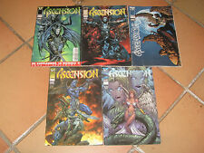 LOT 5 comics ASCENCION n°2 4 5 6 et 7 - Semic / Top Cow