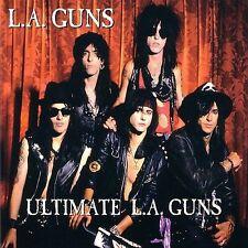 LA GUNS - Ultimate La Guns - (CD-2002 DEADLINE/CLEOPATRA)   VERY GOOD REMASTERED
