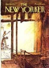 New Yorker COVER - 04/19/1976 - decorating - GETZ