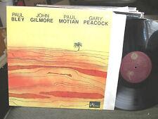 PAUL BLEY JOHN GILMORE Annette PEACOCK TURNING POINT lp carla MONO! '64 '68 '75
