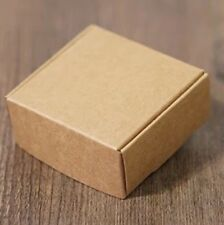 40x Kraft Paper Boxes Party Wedding Favour Boxes Bomboniere Gift Boxes - Square