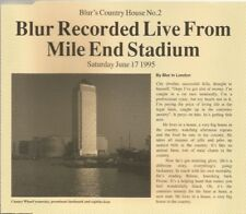 Blur - Country House Recorded Live From Mile End Stadium 1995 CD single