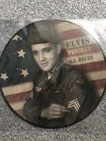 Elvis Presley 'GI Blues' LP Vinyl - 2018 Ltd Edition Picture Disc - BRAND NEW