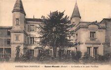 Saint-Mandé - Institution POINTEAU - le jardin et le petit pavillon