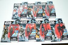 Lot of 7 New Star Wars Rogue One action figures Jyn Erso Cassian Troopers
