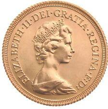 ELIZABETH 1980 PROOF FULL SOVEREIGN in capsule, Gold Bullion Investment