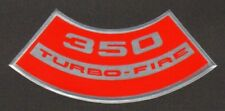 CHEVROLET 350 TURBO-FIRE AIR CLEANER DECAL