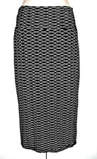 METALICUS double layer black and white tube skirt - One Size