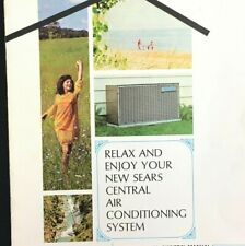 Vintage Sears, Roebuck and Co Central Air Conditioning System Manual