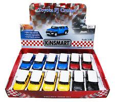 TOYOTA FJ CRUISER SUV DIECAST CAR BOX OF 12 1/36 SCALE DIECAST CARS, ASSORTED