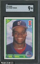 1990 Score #663 Frank Thomas White Sox RC Rookie HOF SGC 9 MINT
