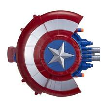 Marvel Captain America Blaster Reveal Shield Nerf Darts Avengers