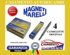 KIT 4 CANDELETTE ORIGINALI MAGNETI MARELLI MINI ONE 1.4 D
