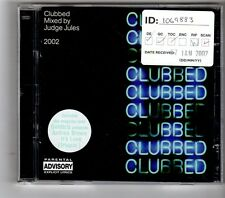 (HK372) Clubbed, Mixed by Judge Jules - 2002 double CD