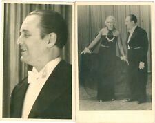 ACTOR ACTRESS Gino Balina Hella Rellusch 3 Real Photo PCs c1920s