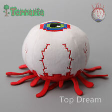 Game Terraria Eye of Cthulhu Plush Doll Soft Stuffed Toy 5'' Kids Novelty Gift