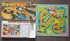 Vintage Motor Race Game Board Game Arrow Games Ltd 1960's 100% Complete