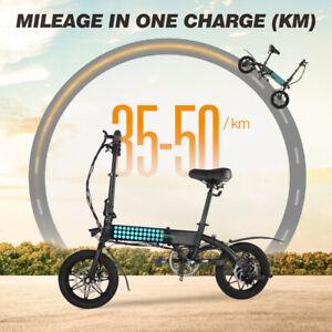 """Elektrofahrrad 14"""" Zoll Rad E-Bike Pedelec Fahrrad mit 250W / 36V Motor Citybike"""