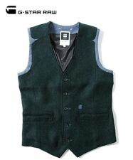 G-Star Raw RCT Ruston Gilet Vest Rence Wool Men's Size 2XL XXL