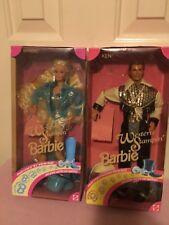 Western Stampin' Barbie & Western Stampin' Ken - 1993 NRFB