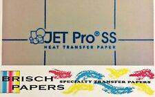 "INKJET TRANSFER FOR WHITE FABRIC: IRON-ON ""JET PRO SOFT STRETCH"" (8.5""X11"")100CT"