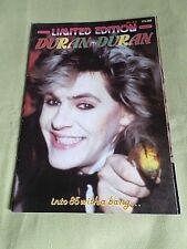 DURAN DURAN LIMITED EDITION UK MAG POP BAND 1980'S  #20