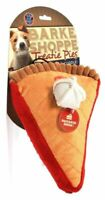 Bow Wow Pet Barke Shoppe Treatie Pies Squeak & Plush Dog Toy (Color May Vary)