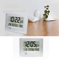 Automatic Digital Full Calendar Wall Clock Extra Large Digits Clock For Elderly