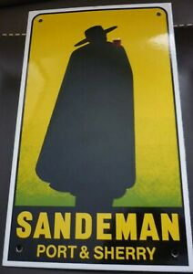 Art Deco Advert Sandeman Port by George Massiot Brown 1933 - New Reproduction