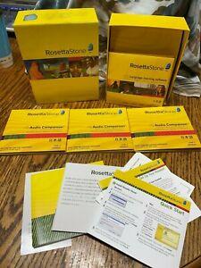 Rosetta Stone Japanese for PC, Mac cd-ROM Version 3, Level 1,2,&3