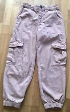 Ladies Urban Outfitters UO BDG Peach Jeans Cargo Trousers Size W28 L30