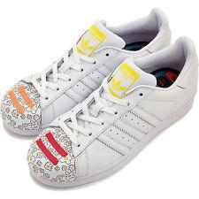 NIB! Adidas S83368 Men's Superstar Pharrell Supershell Shoes Sneakers White, 13