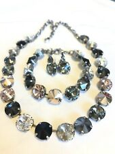 Swarovski crystal elements  Necklace Bracelet Earrings 12mm Jewelry New