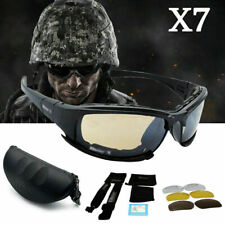 Daisy X7 UVA/UVB Tactical Military Style Brille Motorrad Sonnenbrille UV400