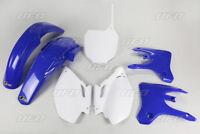 Kit plastiques UFO origine bleu / blanc Yamaha YZF 250 / 450 2003 2004 2005