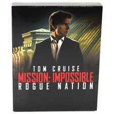 MISSION IMPOSSIBLE ROGUE NATION BLU-RAY STEELBOOK FULLSLIP FILMARENA NEW&SEALED
