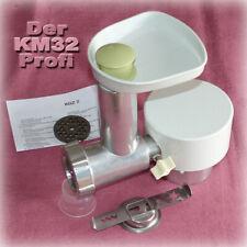 █ BRAUN KM32 🔴 SUPERANGEBOT 🔴 FLEISCHWOLF + GEBÄCKVORSATZ Küchenmaschine KM 32
