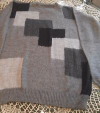 100% Luxurious Alpaca Peruvian Men's Sweater New NWOT Handsome and Classic Large