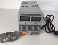 Dr.meter VARIABLE DC POWER SUPPLY (HY3003D)0-30 V/ 0-3A Pre-Owned